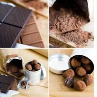 Trufas de Chocolate...